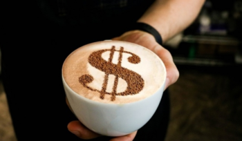 money, survive, latte with art